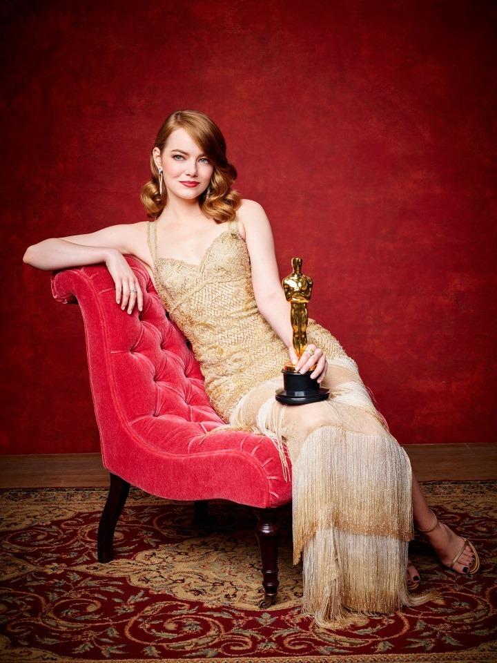 OSCAR2017 - Emma Stone